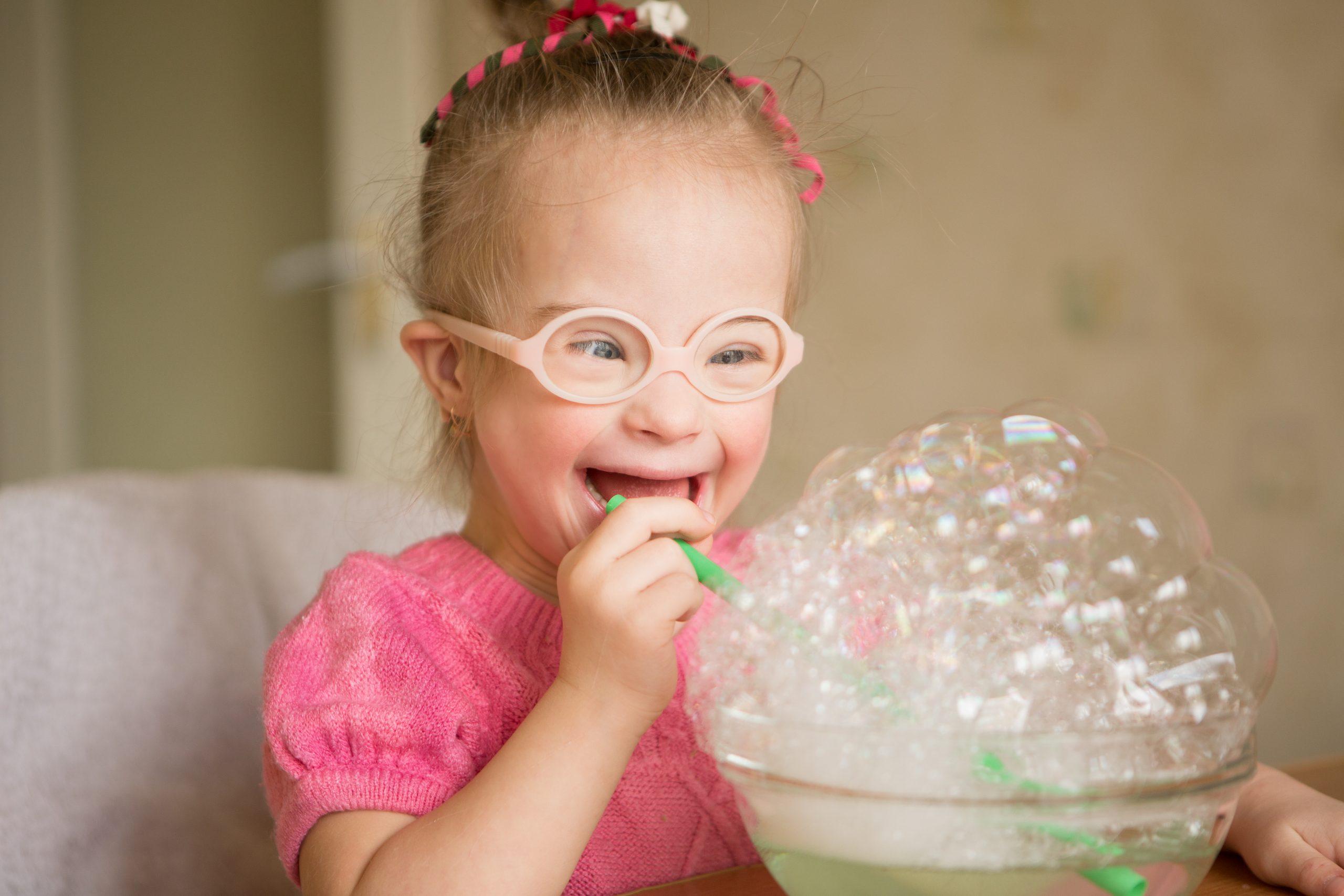 disabilità bambina